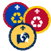 Beaver, Cub and Scout Badges